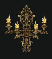 """Вышивка крестом """"Вечер при свечах"""" (430х480 мм)"""