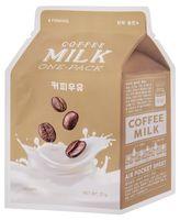 """Тканевая маска для лица """"Coffee Milk"""" (21 г)"""