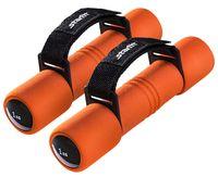 Гантели неопреновые DB-203 1 кг (оранжевые)