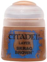 "Краска акриловая ""Citadel Layer"" (skrag brown; 12 мл)"