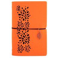 Записная книжка (120х190 мм; оранжевая)