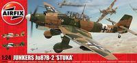 """Бомбардировщик """"Junkers Ju87B-2 Stuka"""" (масштаб: 1/24)"""