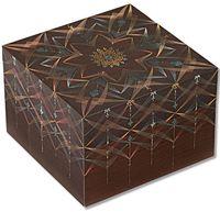"""Шкатулка Paperblanks """"Bhava Square Kirikane"""" (формат: мини, 100 x 100 x 68 мм)"""