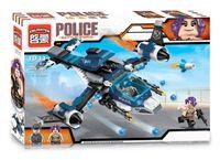 """Конструктор """"Police. Полицейский вертолет"""" (275 деталей)"""
