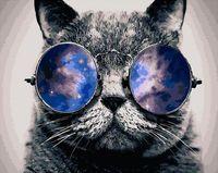 """Картина по номерам """"Отражение неба"""" (500х650 мм)"""