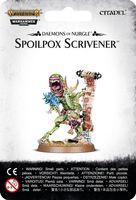 Warhammer Age of Sigmar. Daemons of Nurgle. Spoilpox Scrivener (83-47)