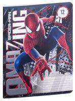 """Тетрадь в линейку """"Spider-man"""" (12 листов; в ассортименте)"""