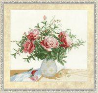 """Вышивка крестом """"Розы и ягоды"""""""