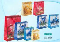 """Пакет бумажный подарочный """"С Новым годом"""" (в ассортименте; 18х23х8 см; арт. МС-2954)"""