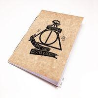 "Блокнот крафт ""Гарри Поттер. Дары смерти"" А6 (740)"
