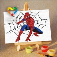 """Картина по номерам """"Спайдермен"""" (100х150 мм; арт. M1015074)"""