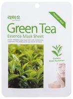 """Тканевая маска для лица """"С экстрактом Зелёного чая"""" (21 г)"""