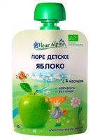 """Детское пюре Fleur Alpine Organic """"Яблоко"""" (90 г)"""