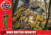 "Набор миниатюр ""WW.II Британская пехота"" (масштаб: 1/32)"