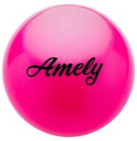 Мяч для художественной гимнастики AGB-101 (19 см; розовый)