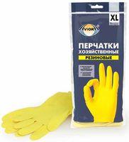 Перчатки хозяйственные резиновые (XL; 1 пара)