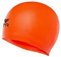 """Шапочка для плавания """"Latex Swim Cap"""" (оранжевая)"""