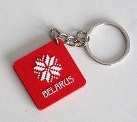 """Брелок """"Belarus"""" (красный)"""