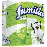 """Туалетная бумага """"Яблоко"""" (4 рулона)"""