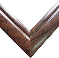 Рамка деревянная для картины по номерам (40х50 см; орех)