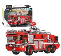 """Конструктор """"Пожарная машина. XingBao"""" (720 деталей)"""