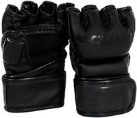 """Перчатки для MMA """"Black Edition Flex"""" (L; чёрные)"""