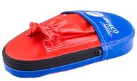 Лапы боксёрские прямые (пара; красно-синие; арт. УТ-00010079)