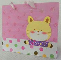 Пакет бумажный подарочный (43х33х10 см; арт. XD-i2304-6)