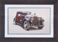 """Набор для вышивания """"Авто Skoda 1933"""""""