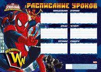 """Расписание уроков """"Spider-man Classic"""" (А3)"""