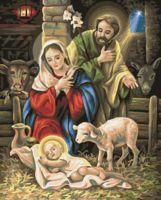 """Картина по номерам """"Ночь перед рождеством"""" (400х500 мм)"""