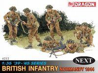 "Набор миниатюр ""British Infantry Normandy 1944"" (масштаб:1/35)"