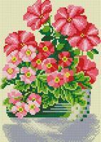 """Алмазная вышивка-мозаика """"Милые цветы"""" (300х200 мм)"""