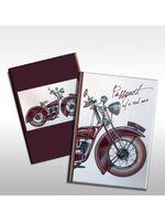 """Обложка для паспорта """"Мотоцикл"""" (арт. 37713)"""