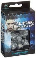 """Набор кубиков """"Классика"""" (7 шт; смог серый)"""