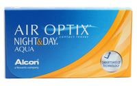 "Контактные линзы ""Air Optix Night and Day Aqua"" (1 линза; -2,5 дптр)"