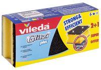 """Губка для мытья посуды """"Glitzi Plus"""" (3 шт.)"""