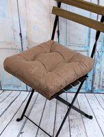 """Подушка на стул """"Velours"""" (40х40 см; кофе)"""