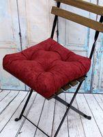 """Подушка на стул """"Velours"""" (40х40 см; красная)"""