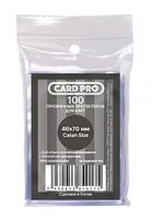 "Протекторы ""Card-Pro. Catan Size"" (46х70 мм; 100 шт.)"
