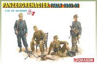 "Набор миниатюр ""Panzergrenadier Italy 1943-45"" (масштаб: 1/35)"