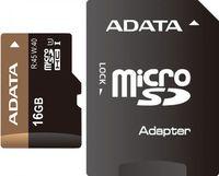 Карта памяти micro SDHC 16Gb A-Data Class 10 Premier Pro UHS-I (с адаптером)