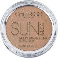 "Компактная пудра для лица ""Sun Glow Matt Bronzing"" (тон: 020)"