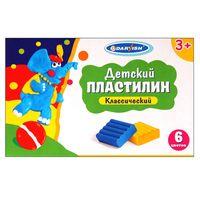 "Пластилин детский ""Darvish"" (12 цветов)"