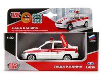 """Модель машины """"Lada Kalina. Скорая помощь"""" (масштаб: 1/32)"""