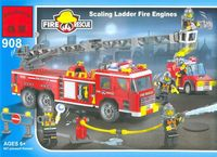 """Конструктор """"Fire Rescue. Пожарная техника"""" (605 деталей)"""