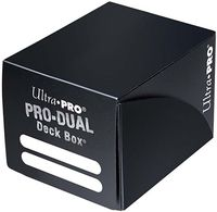 "Коробочка для карт ""PRO Dual Small"" (120 карт; черная)"