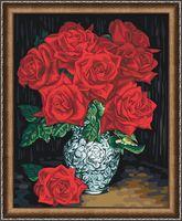 "Картина по номерам ""Бархатные розы"" (400х500 мм)"
