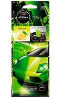 """Ароматизатор для автомобиля """"City Card"""" (lemon)"""