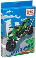 """Сборная модель из картона """"Мотоцикл"""""""